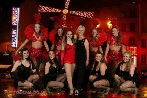 """""""Starburst Dancers"""" - Moulin Rouge Show"""