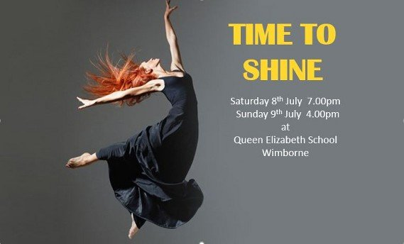 Time To Shine at Queen Elizabeth School, Wimborne - Saturday 8th July